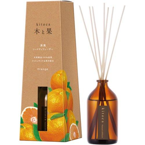 天然ルームフレグランス「木と果」/オレンジ