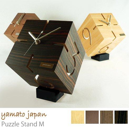 アートな木製時計/ダイス