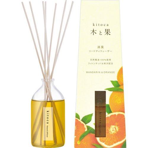 天然ルームフレグランス「木と果」/マンダリン&オレンジ